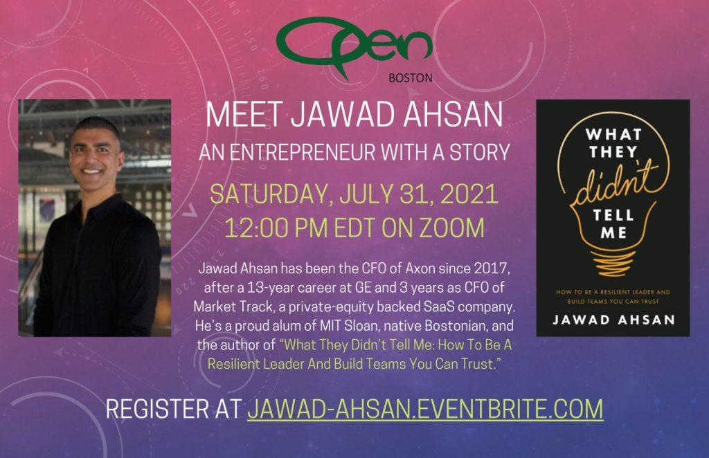 Meet Jawad Ahsan