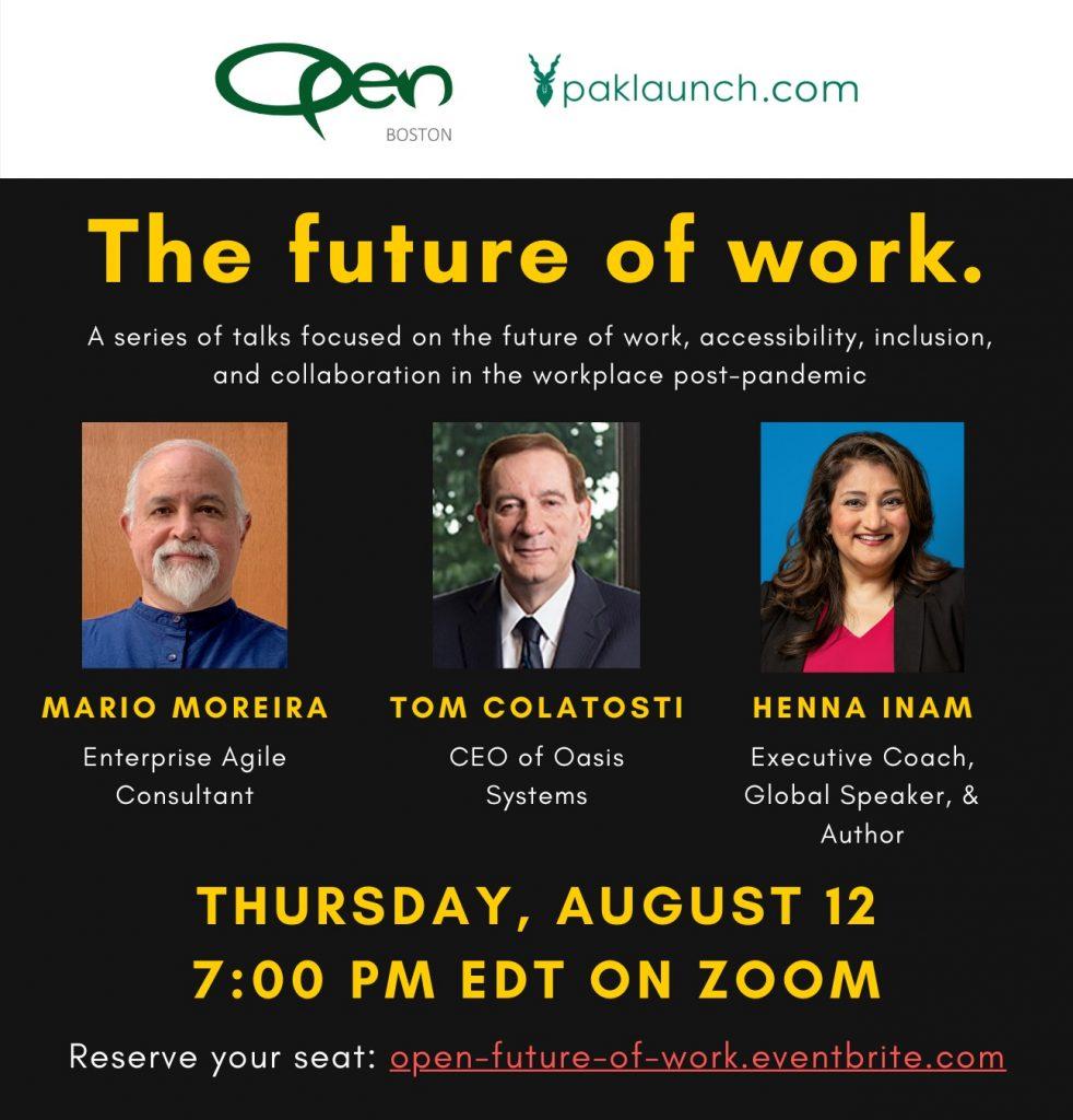 Future of Work panel